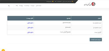 افزونه وردپرس گزارشات سایت شرکت سامان گستران صنعت