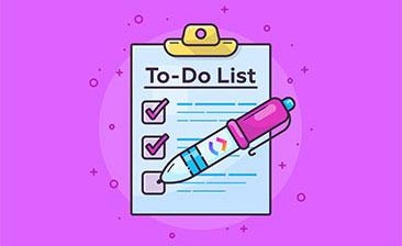 پروژه Todo list با php